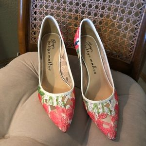 "Anthropologie Bettye Muller ""Astor"" pumps"